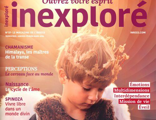 NICOLETTI M., «LES MAÎTRES DE LA TRANSE»,INEXPLORÉ, N. 37, JANVIER-MARS 2018