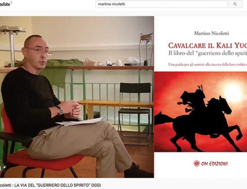 Présentation du nouveau livre de Martino Nicoletti consacré à la Voie du guerrier spirituel