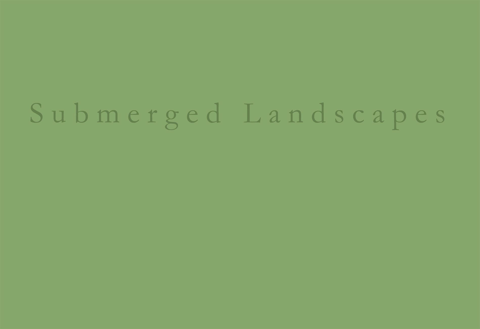 SUBMERGED LANDSCAPES