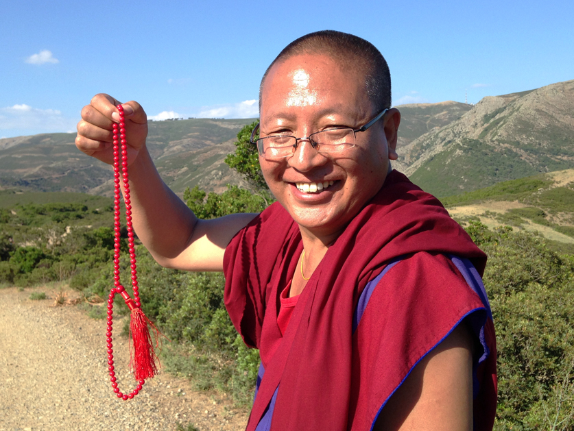 The message by Khenpo Gelek Jinpa on the Dzogchen teachings retreat (January 9th-10th 2021)